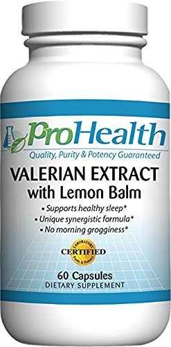 xtract + Lemon Balm (60 capsules) 160 mg Valerian + 80 mg Lemon Balm | Relaxation & Sleep Support | No Morning Grogginess | Stress & Anxiety Relief | Vegan | Gluten Free | Soy Free ()