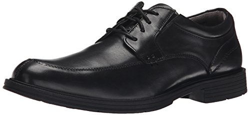 Florsheim Men's Mogul Moc Toe Oxford, Black, 11 D (Split Toe Oxfords)