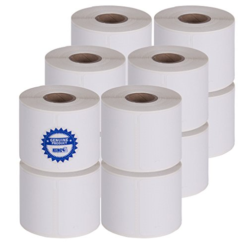 Dymo Compatible 30270-2 7/16 Inches X 3,360 Inches Continuous Receipt Paper Rolls by Kenco (12 PACK)