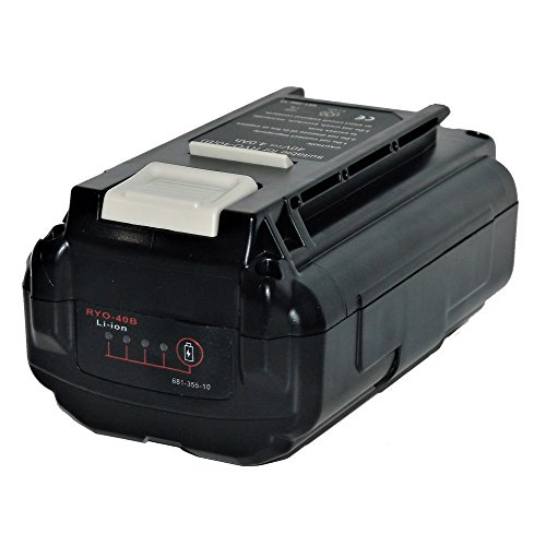 UPGRADED 4.0Ah Lithium-ion Replacement Battery for Ryobi 40V Model RY40210 by G/C Battery, Co.
