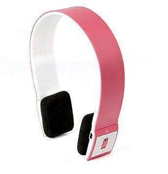 LIUYULIN Movimiento De Auriculares Bluetooth Auriculares Auriculares Inalámbricos con Bluetooth Bluetooth 4.1 Auriculares. Rosa