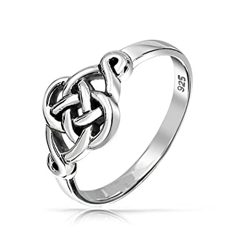 925 Sterling Silver Irish Celtic Love knot Ring - Celtic Love Symbol