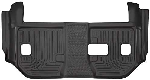 Husky Liners Fits 2015-19 Cadillac Escalade ESV, 2015-19 Chevrolet Suburban, 2015-19 GMC Yukon XL – with 2nd Row Bench Seat Weatherbeater 3rd Seat Floor Mat