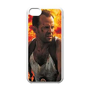 Die Hard iPhone 5c Cell Phone Case-White T4524800