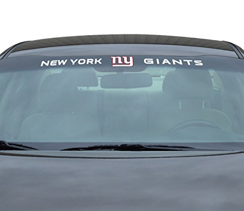 Team ProMark NFL New York Giants Windshield Decal, Blue, Standard