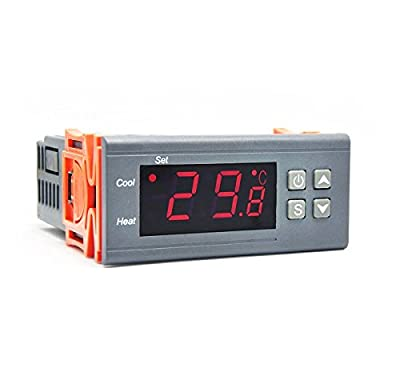 Ringder 220V10A Automatic Switch Digital Temperature Controller Digital Thermostat STC-1000 Upgraded Version