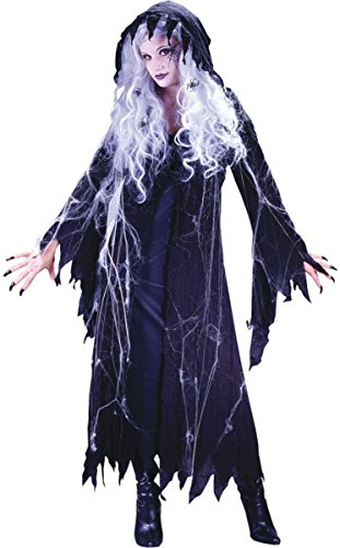Costumes For All Occasions Fw5029Sd Spider Web Gauze Ghost Sm Md