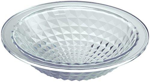 KOHLER K-2361-B11 Kallos Spun Glass Under-Mount Bathroom Sink, Ice