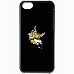 Personalized Case For Iphone 6 Plus (5.5 Inch) Cover Cell phone Skin Nfl Minnesota Vikings 4 Sport Black