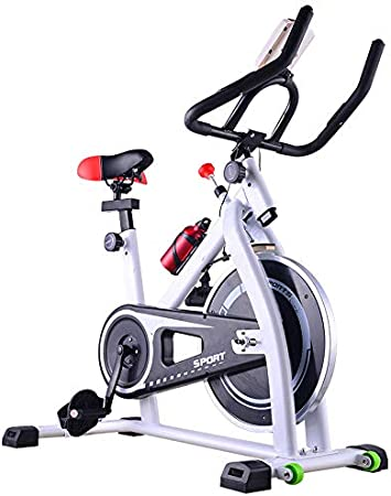 Xb Indoor Cycling Bicycles Exercise Bike For Home Indoor Sports Equipment Ultra Quiet Spinning Bike White Amazon Co Uk Kitchen Home