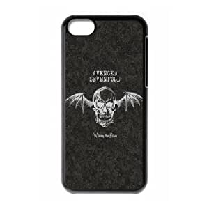 Avenged Sevenfold 001 iPhone 5c Cell Phone Case Black Protective Cover