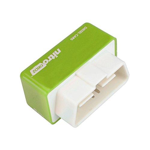 Alamor Eco Obd2 É conomie Chip Tuning Box Benzine Green Power Fuel Optimization Device