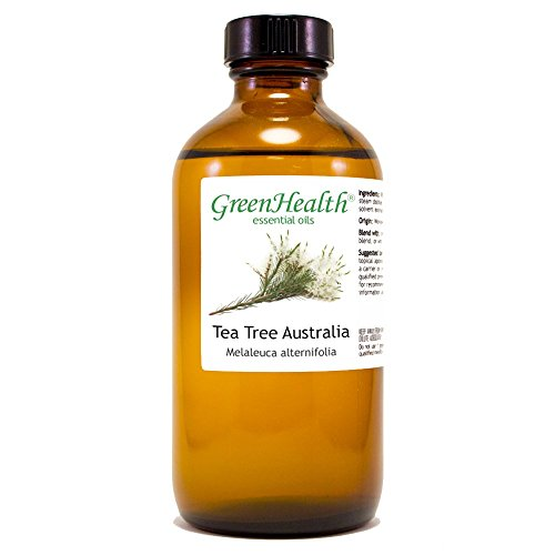 GreenHealth Tea Tree Australia – 8 fl oz  Glass Bottle w/C