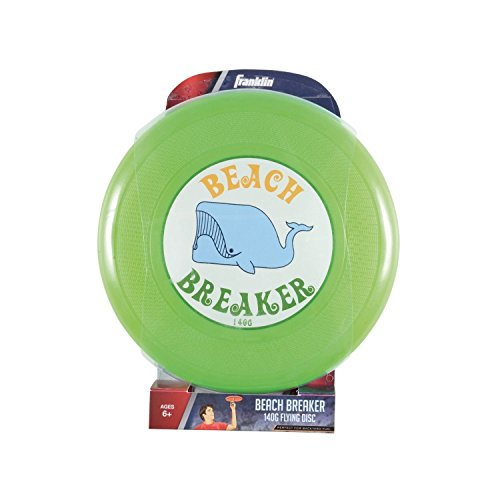 Franklin Sports Beach Breaker Outdoor 140g Disc Recreational Frisbee Base Design