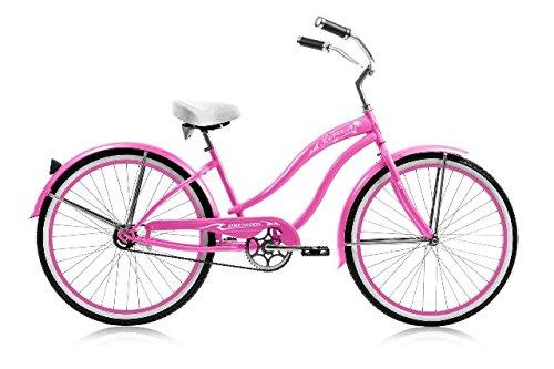 Micargi Bicycle Industries Rover Single Speed Ride On, Pink