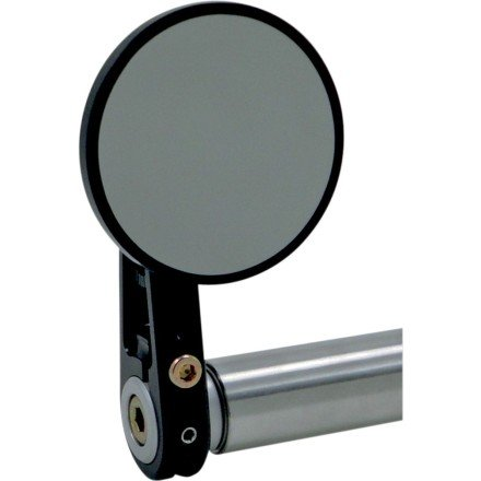 Joker Machine Round Bar End Mirror (2-1/4