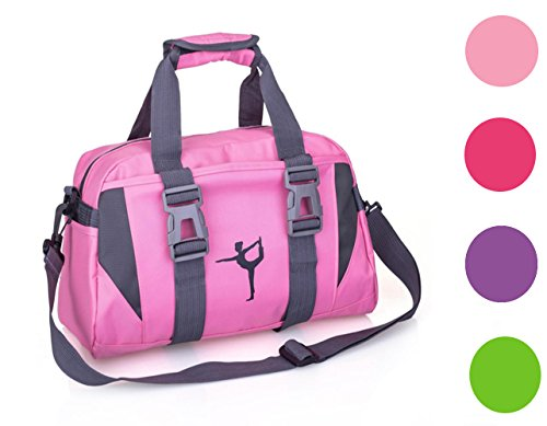 2017snow-SmallLarge-Dance-Duffle-Bag-For-Girls-Sport-Gym-Bags-For-Women-Yoga-Bag-Large-Pink