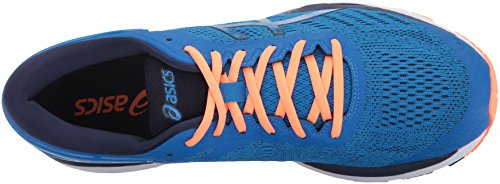 Laufschuh Directoire Peacoat Hot Asics Kayano Synthetik 24 Gel Orange Blue COqaU