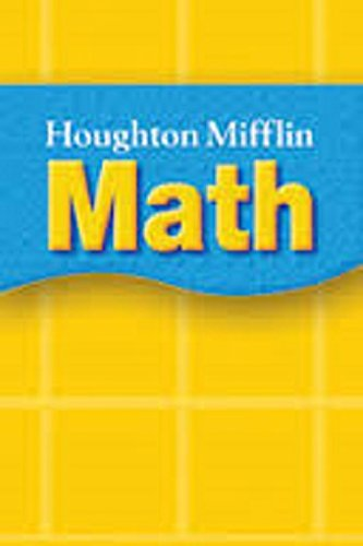 Houghton Mifflin Mathmatics Georgia: Homework Book Lvl 5 pdf