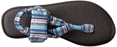 Blue Stripe Topaz Print Yoga Sling Island Sanuk Vintage 2 Women's RFYzqz