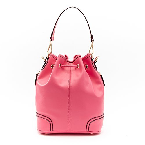 Barbie BBFB114 Bolso Forma de Cubo Bolso Moderno Estilo Europeo Color Puro Rosa