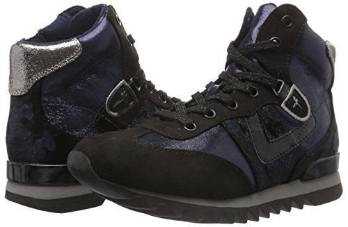 890 Tamaris navy Comb Bleu Sneakers Femme Hautes 25216 a0OSqa1