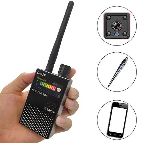 Anti Spy Wireless RF Signal Detector, Upgrade Bug GPS Signal Detectors, for Hidden Camera GSM Listening Device GPS Radar Radio Scanner Wireless Signal Device Finder