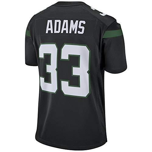 FOMEWY Men's/Women's/Youth_Jamal_Adams_#33_Black_Player_Sportswears_Training_Jersey