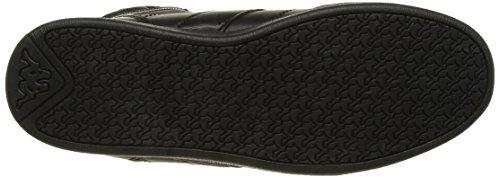 Donna Basse Sneaker Kappa Black Linwood Gold Nero 906 Shiny On17z