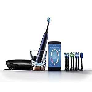 Philips Sonicare DiamondClean Smart 9700 Rechargeable Electric Toothbrush, Lunar Blue HX9957/51 1