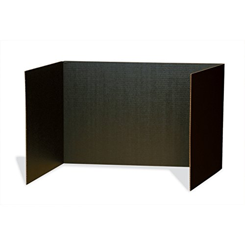 Pacon Privacy Boards, Black, 48