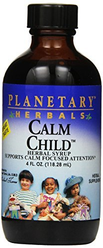 Calm Child Herbal Syrup (Planetary Herbals Calm Child Herbal Syrup (118ml, 4oz) by Planetary Formulas)