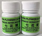 Seven Flower Extract-2 Bottles- Natural Blood Pressure Traditional Chinese Medicine