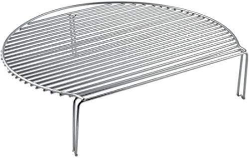 YNNI KAMADO Grille supérieure pour Barbecue 11 x 46 cm