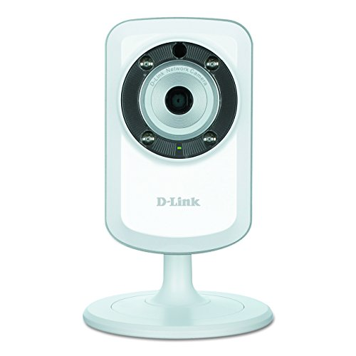 D-Link DCS-933L Day & Night Wi-Fi Camera with Wi-Fi Extender (White) -