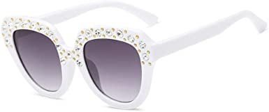 Amazon Com Fashion Oversized Diamond Big Square Sunglasses Luxury Designer Kids Baby Mirror Sun Glasses For Children Girl Clothing