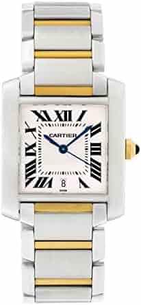 Cartier Tank Francaise Mens Gold & Steel Watch