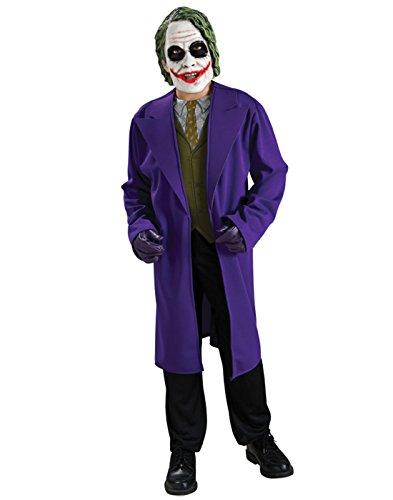 [Batman The Dark Knight, Tween Size Joker Costume] (The Joker Batman Costume)