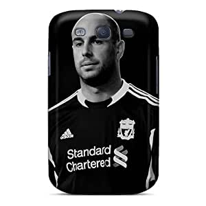 Premium [ddbnMEk8046soLaY]the Best Goalkeeper Of Napoli Pepe Reina In Black Colors Case For Galaxy S3- Eco-friendly Packaging