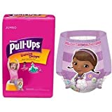 Huggies Pull-Ups Training Pants for Girls with Learning Designs, Jumbo Pack, Size 2T-3T, 26 ct