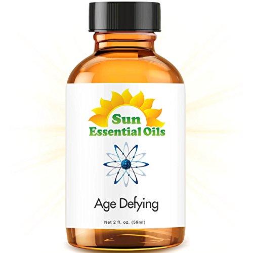 Age Defy Blend Best Essential Oil - 2 Ounces (59ml) (Frankincense, Helichrysum, Lavender, Myrrh & - Myrrh Blend Essential