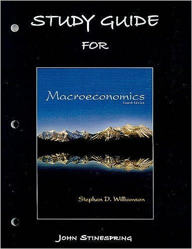 Study guide for macroeconomics 9780131368743 economics books study guide for macroeconomics 4th edition fandeluxe Choice Image