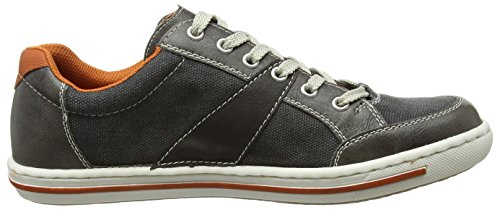 Rieker 19013 Sneakers-men - Zapatillas Hombre Gris - Grau (stein/anthrazit/anthrazit/ziegel / 41)