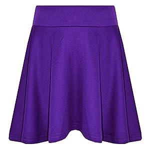 Girls Ex Store Black Swing School Skirt  Age 4,5,6,7,8,9,10,11,13Years NEW