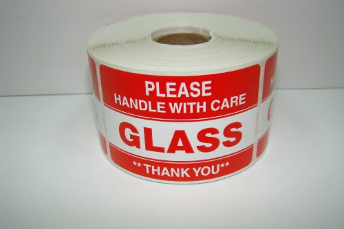 Please Handle Fragile Labels Stickers product image