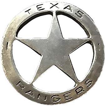 Anstecker Pin Sheriffstern Texas Rangers Historische Nachbildung Made In Usa Western Country Schmuck