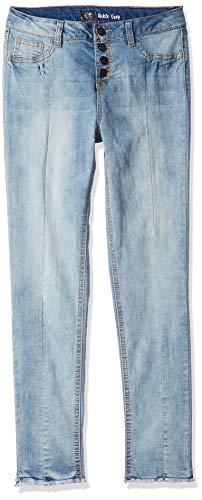 Seven 7 Jeans Crop Jean - LEE Girls' Big Fashion Skinny Crop Jean, Vintage Front, 7