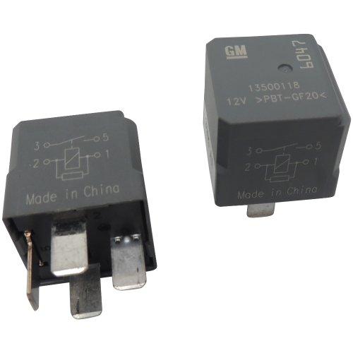 OEM GM 4-Pin Relays (2 Pack) 13500118