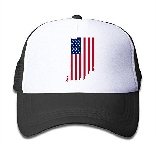 babys-indiana-usa-flag-adjustable-snapback-trucker-hat-black-one-size