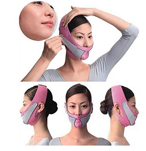Face Lift Tools Thin Face Mask Slimming Facial Thin Masseter Double Chin Skin Thin Face Bandage Belt Women Face Care Beauty Kit by AdvancedShop